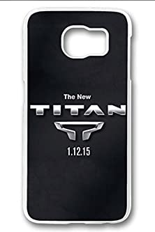 buy S6 Case,Hard Shell Plastic Pc [Clear] Crystal Cover Snugly Sleek Slim Lightweight Frosted Colorful Vibrant Fit Headphones Port Oil Water Proof Samsung Galaxy S6-2016 Nissan Titan Logo Unveiled