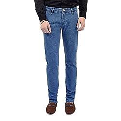 Club Vintage Mens Slim Fit Jeans(CV10JNSFXXLB30_Light Blue_30)