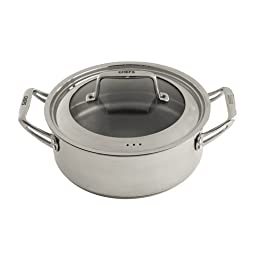CHEFS Never Burn Stovetop Braiser - 3.5 Quart