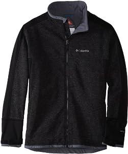 Columbia Men's Grade Max Extended Jacket (Big), Black, 2X