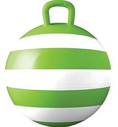 Green Stripey Hopper