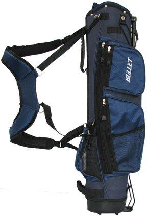Golf Halbsatztasche Tasche NEU in BLAU für 6 Schläger mit Tragegurt und Regenhaube
