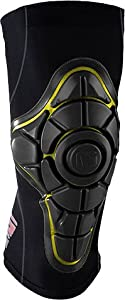 G-Form PRO-X Knee Pads [Small] Black Yellow by G-Form