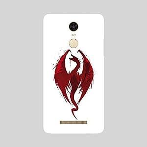 Back cover for Redmi Note 3 Dragon