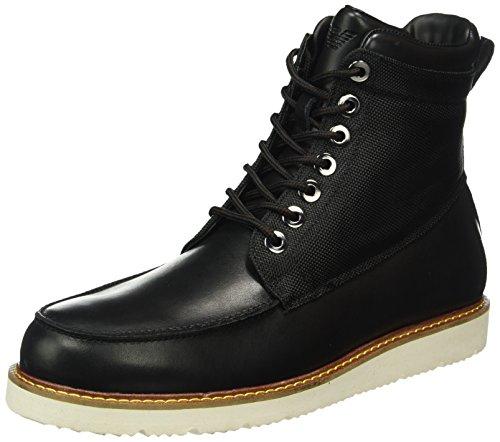 Armani Jeans9350526A452 - Stivali classici imbottiti a gamba corta Uomo , Nero (Schwarz (NERO 00020)), 43 EU