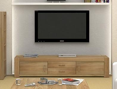 Buying Guide of  Oakworld Brantford Oak Widescreen TV Cabinet