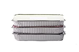 Christy Designs Simply Baked Bakingand Take-Out Foil Pan with Paper Lid