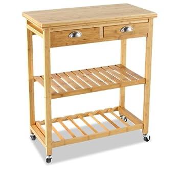 Pas cher meuble chariot de rangement desserte de cuisine - Meuble etagere pas cher ...