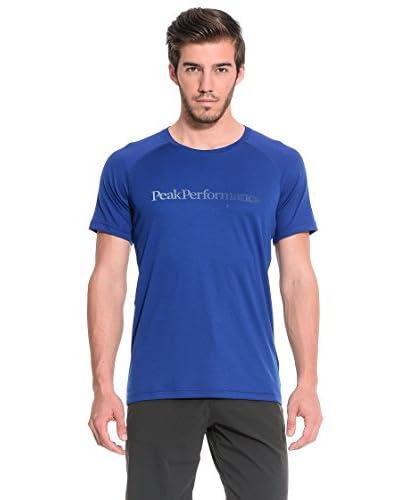 PEAK PERFORMANCE T-Shirt Manica Corta Gallos Ss [Blu]