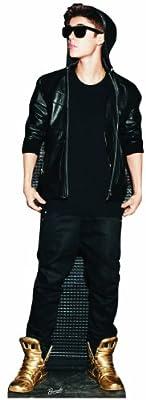 Star Cutouts SC581 Justin Bieber Gold Shoes Cardboard Cutout