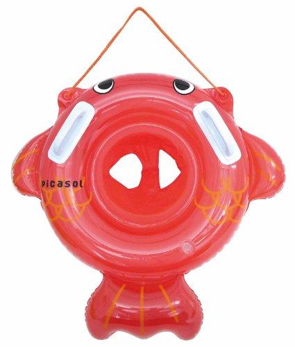 浮き輪足穴金魚さん 直径55cm  DU-14052 ベビー
