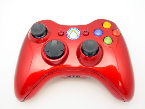 Best buy Xbox 360 8 MODE Rapid Fire Controller CHROME RED with BLUE Leds for