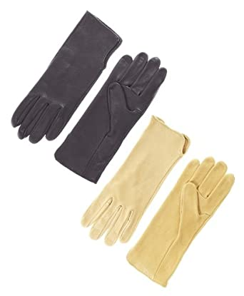 Geier Glove Men's Bullrider Deerskin Gloves Size 7 Color Black