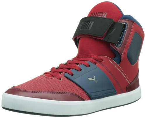 PUMA Men's EL Solo Tech Fashion Sneaker,Cabernet,11 D US
