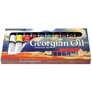 Daler-Rowney Georgian Oil Color Selection Set 38 ml Tubes