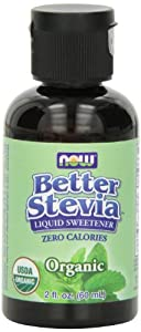 Now Foods Liquid Stevia, Organic, 2-Ounce