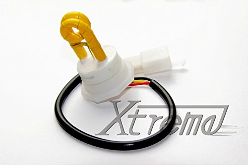 Xtreme® 1 Yellow(Amber) Hide Away Strobe Tube For 80W / 120W / 160W Kits Headlight Replacement Bulbs