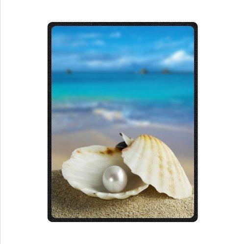 Seashell Throw Blanket front-1033586