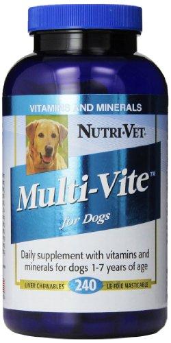 Nutri-Vet Multi-Vite Chewables, 240 Count