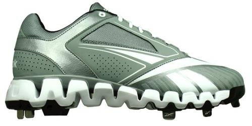 7d3fe0e592a197 Reebok Men s Zig Cooperstown 2 0 Low M Shoe Grey White 10 M US ...