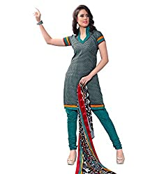 The Ethnic Chic Rama Colored Cotton Suit