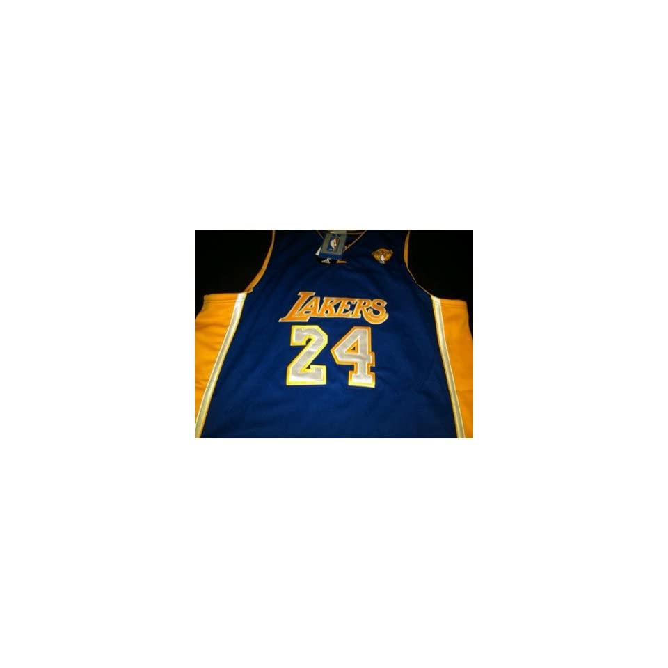 e2c5cb14f Kobe Bryant Purple Road Los Angeles Lakers Jersey New With Tags Size ...