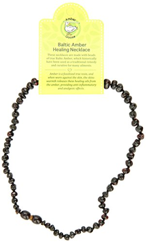 "Momma Goose Teething Necklace, Cherry, 15"" - 1"
