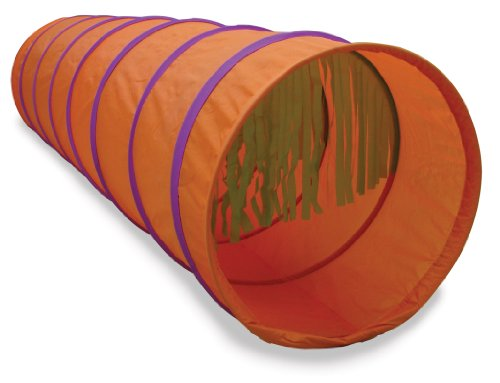 Pacific Play Tents Tickle Me 6' Tunnel, Orange