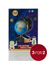 Amazing Science 2 in 1 Earth & Constellations Globe