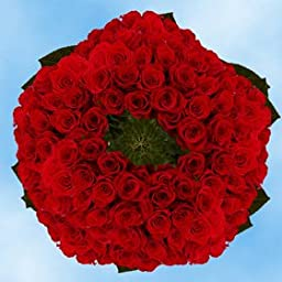 Valentine\'s Day 75 Premium Red Roses