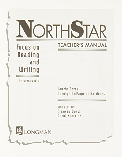 Northstar: Focus on Reading and Writing, Intermediate Teacher's Manual