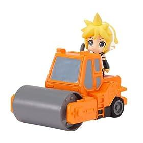 ねんどろいどぷらす ボーカロイド 激走プルバックカー レン&ロードローラー(オレンジ)
