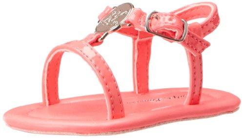 Ralph Lauren Layette Sueanne Sandal (Infant/Toddler),Hot Pink,4 M Us Toddler front-567681