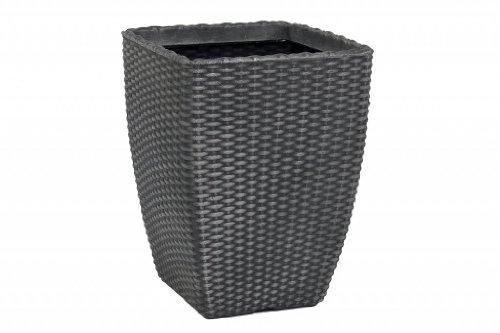 grosse-grossen-rattan-effect-planter-blumentopf-aus-kunststoff-grau-outdoor-indoor-pot