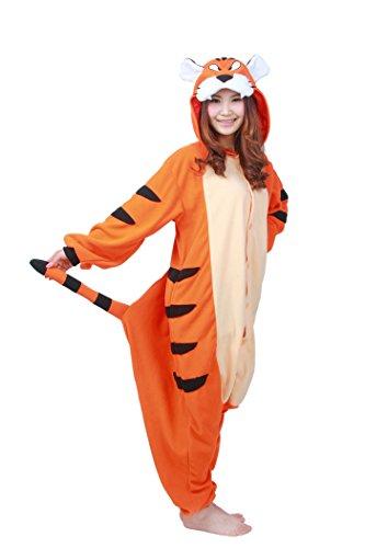 [Ikerenwedding Sleepsuit Costume Cosplay Lounge Wear Onesie Animal Pajamas] (Cute Costumes For Couples)
