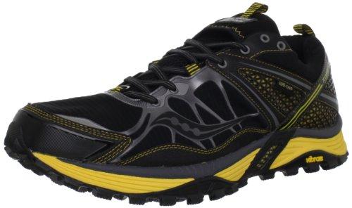 9ec30bf0 Saucony Men s Progrid Xodus 3 0 GTX Trail Running Shoe Black Yellow ...