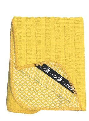 Cook! Collection Solid Color Scrubber Dish Cloths,