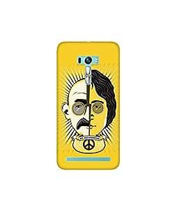 Kolor Edge Printed Back Cover for Asus Zenfone Selfie - Multicolor (4400-Ke10645ZenSelfieSub)