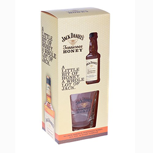 Jack Daniel discount duty free Jack Daniels Honey Whiskey Liqueur Miniature Gift Set