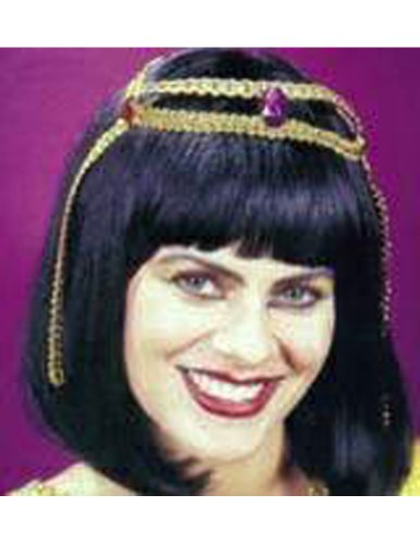 Costume-Wig Cleopatra Halloween Costume - 1 size