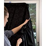 Chic Gro Anywhere Travel Black Out Blind - Cleva Edition ChildSAFE Door Stopz Bundle