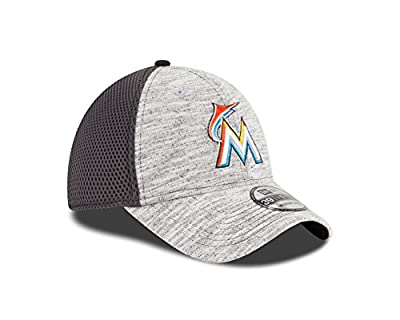 MLB Miami Marlins 2016 Clubhouse 39Thirty Stretch Fit Cap