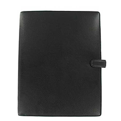 Filofax Finsbury A4 Organiser Black Ref 025321