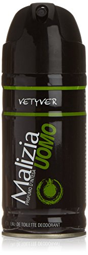Malizia Deo Spray Uomo Vetyver Ml.150