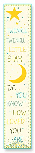 The Kids Room by Stupell Twinkle, Twinkle Little Star Growth Chart - 1