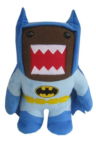 "Domo Batman Small 6"" Plush, Blue - 1"