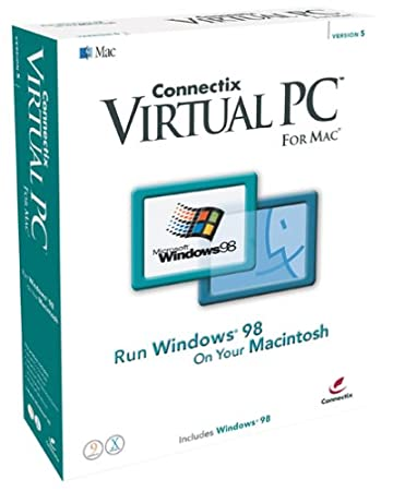 Virtual PC 5 for Mac with Windows 98