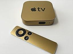 Matte Gold Apple TV Skin (Apple Tv NOT Included)