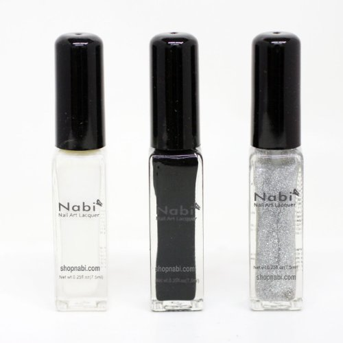 Nabi Thin Brush Nail Art Lacquer ...