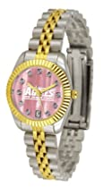New Mexico State Aggies NMSU NCAA Womens Executive Mother-Of-Pearl Watch